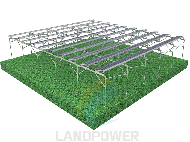 Agriculture solar mounting