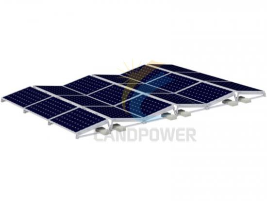 East West Ballasted Solar Mounting